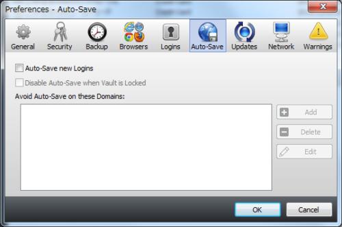 Auto-Save画面