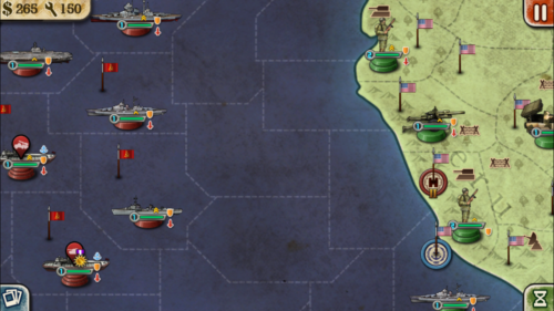 世界の覇者2 メイン画面